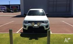 *MUST GO ASAP* 2WD high rider ute, tint, spot lights,