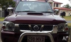 Feb 2010 D22 Navara, MY09, only has 65000 klms on the