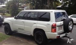 2010 Nissan Patrol ST (4x4) GU VII Station Wagon For