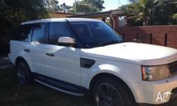 2010 MY10 Range Rover sport White with 78000kms.