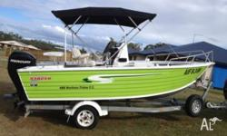 2010 stacer northern fisher centre console, 60hp
