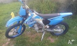 2010 TM144en near new condition. Female owner only rode