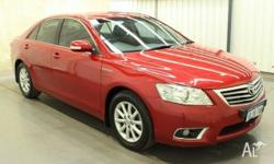 2010 Toyota Aurion GSV40R 09 Upgrade Prodigy Red 6