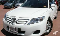 This 2010 Toyota Camry Altise Sedan includes features