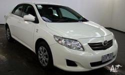 2010 Toyota Corolla ZRE152R MY10 Upgrade Ascent Glacier