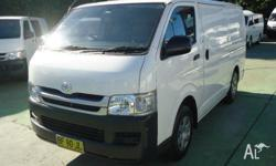 TOP CONDITION VAN! TESTDRIVE FOR YOURSELF! TOYOTA HIACE