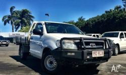 Toyota Hilux 4 Cylinder Petrol Workmate Single cab with