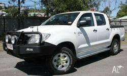 This fantastic 2010 Toyota Hilux SR Ute is one of the