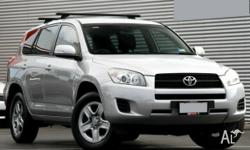 The RAV 4 CV is probably the most popular SUV in the