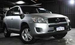 2010 RAV4 CV FEATURING ECONOMICAL 2.4 VVIT ENGINE AND 5