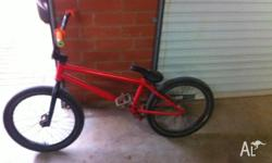 Excellent BMX bike, purchased new 2010 for $1200. Some
