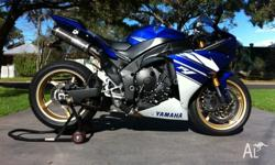 2010 r1 1895kms, gytr frame sliders, gytr pipes, K