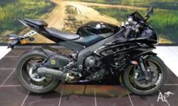 2010 r6 super sharp styling gloss black YRD pipe pick