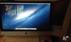 Great condition Apple iMac desktop computer purchased
