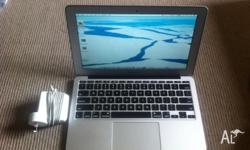 Up for sale is my MacBook Air. This is the 2011 model