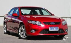 VERY HARD TO FIND LIMITED EDITION XR6 SEDAN COMES WITH