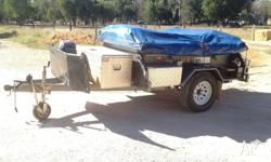 2011 Heavy Duty Off Road Ezytrail Camper Trailer For
