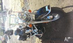 As New Harley Heritage Softail Classic. only done just