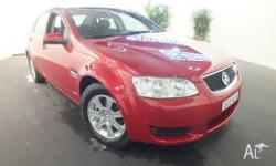 2011 Holden Commodore VE II Omega Red 6 Speed Automatic
