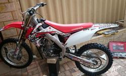 I am selling a Honda crf450r with 25 hours on the clock