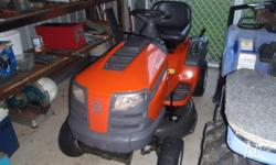 Husqvarna 2011 Hydro Static Drive Ride On Mower. This