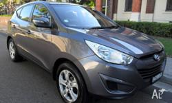 2011 HYUNDAI IX35 LM MY11 ACTIVE WAGON MANUAL THIS