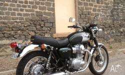 For sale is my Kawasaki W800. I purchased it new from