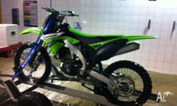 2011 kxf250 fuel injected package Fast and clean bike