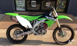 LATE MODEL FUEL INJECTED KX IN GOOD CONDITION FITTED