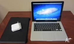Macbook Pro 2011 13 inch 750 gb Hdd i5 2.3 cpu 512 mb