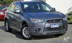This late model low kilometre ASX wagon is still under