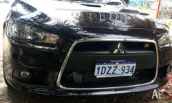 2011 Ralliart Lancer intercooled turbo, 6 speed auto