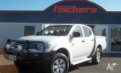 THIS MITSUBISHI TRITON IS A 1 OWNER! 4X4, TURBO DIESEL,