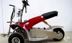 Latest 2011 Scorpion Ride-On Golf Carts, Electric 1000w