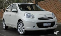 This is a Great Example of a 2011 Nissan Micra Ti