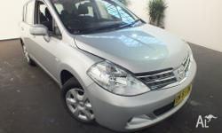 2011 Nissan Tiida C11 Series 3 MY ST Silver 4 Speed