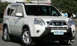 This great looking White X-Trail comes complete with