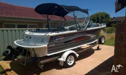 2011 Quintrex 570 Freedom Cruiser. 1 owner since new. *