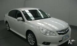 2011 Subaru Liberty MY11 2.5I White Continuous Variable
