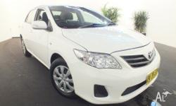2011 Toyota Corolla ZRE152R MY11 Ascent White 4 Speed