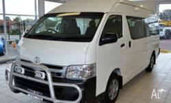 2011 Toyota Hiace KDH223R MY11 Up Commuter White 4