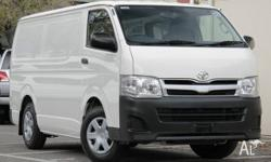 2011 Hiace LWB Van!! Economical 2.7L 4cyl engine with a
