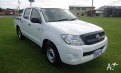 Late model Toyota Hilux 2011 with only 56000km Dual cab