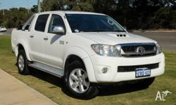 Ever popular TOYOTA HILUX SR5 4x4 DUAL CAB with 3.0lt