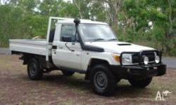 2011 Toyota Landcruiser VDJ79R Workmate The ultimate