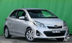 Top of the Range Toyota Yaris ZR Manual **Vehicle