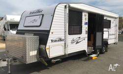 Built buy renowned caravan manufacturer Traveller comes