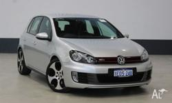 AWESOME LOOKING GTI GOLF, IN STYLISH SILVER WITH BLACK