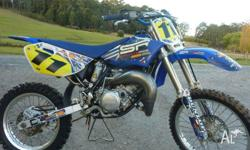 2011 yamaha yz 85 gytr exhaust system v-force 3 reeds