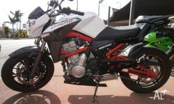 2012 CF MOTO NK 650 EXCELLENT CONDITION LAMS APPROVED